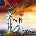 IMAGE OF ANTI- M ALBUM DAMAGE ARTWORK BY ORA TAMIR