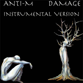 IMAGE OF ANTI-M DAMAGE INSTRUMENTAL VERSION ARTWORK BY ORA TAMIR